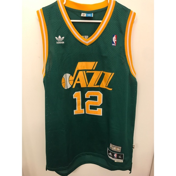 new concept 90db9 dd3bb Utah Jazz John Stockton #12 Jersey